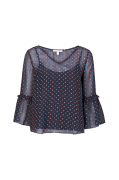 Bluse Dobby Heart Chi Blouse