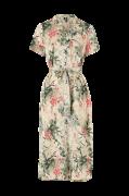 Kjole vmIris Flower S/S Calf Dress