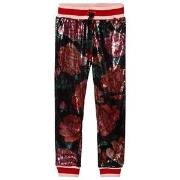 Guess Multi Colour Sequin Floral Trousers 8 years