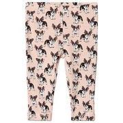 Petit by Sofie Schnoor Pink French Bulldog Leggings 74 cm