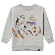 Molo Maxi Sweatshirt Light Grey Melange 92 cm (1,5-2 år)