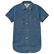 Molo Charlize Shirt Washed Denim Blue 110/116 cm