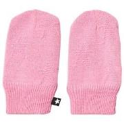 Molo Snowflake Mittens Total Pink 3-6 mdr