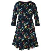 Frugi Navy Forest Jersey Smock Dress M