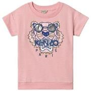 Kenzo Pink Embroidered Sunglasses Tiger Sweat Dress 2 years