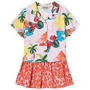 Kenzo Light Pink Hawaii Dress 2 years