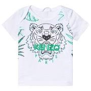 Kenzo White Jungle Tiger Print Tee 18 months
