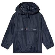 Tommy Hilfiger Navy Branded Hooded Jacket 3 years