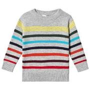 GAP Multi Stripe Crewneck Pullover 4 år