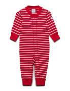 c317262e76b P Stripe Newborn Body Langærmet Rød POLARN O. PYRET